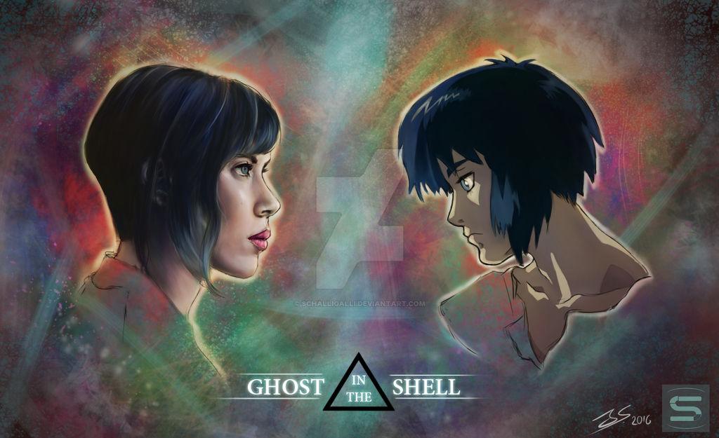 Ghost In The Shell Fanart By Schalligalli On Deviantart
