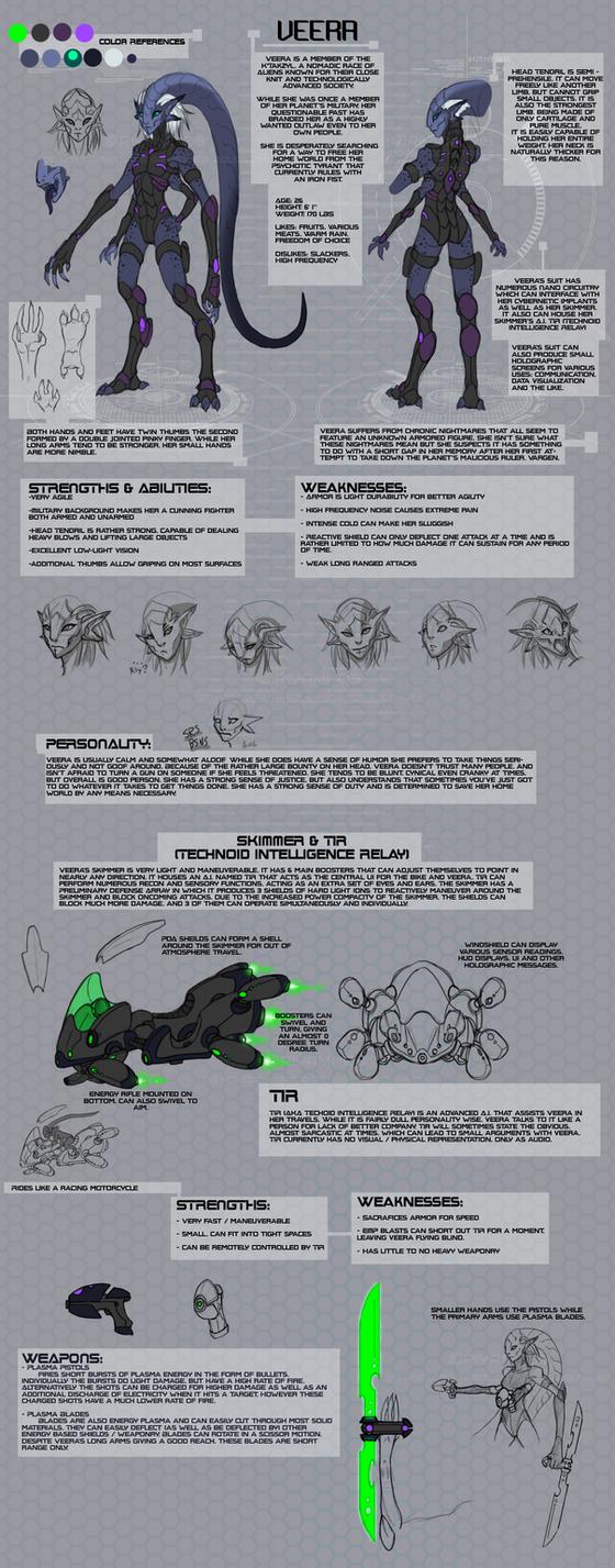 Veera Reference Sheet by Riyami