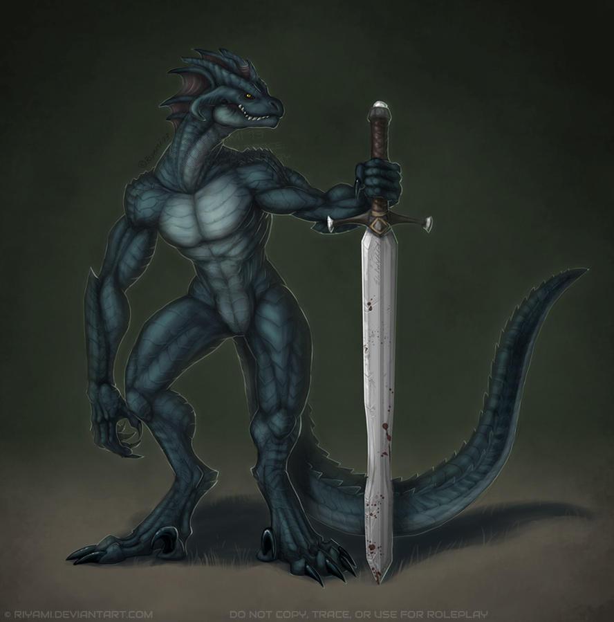 Blackscale Barbarian By Riyami On DeviantArt