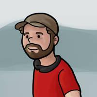 Avatar guy by scribblepuff