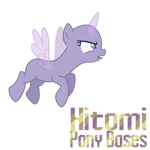 Pony base 4 by HitomiPonyBases