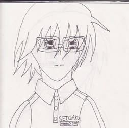 Tezuka Buchou-line art- by MrsRizaMustang