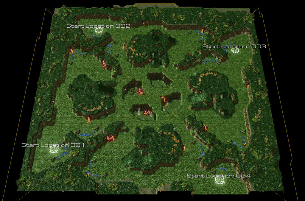StarCraft 2 Custom Map: The Bel'Shir Jungle by Nathan-Jahromi on