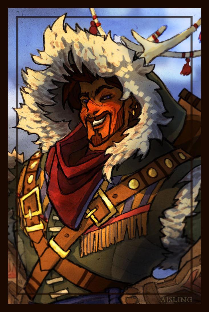The Mountain Cossack by TheyNamedHerRheulea