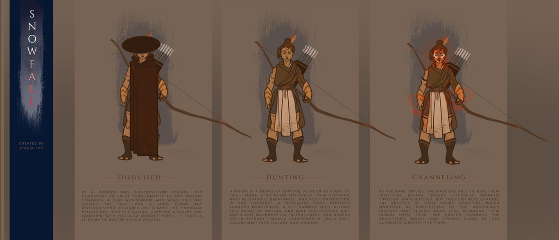 Hunter Design Variations by TheyNamedHerRheulea