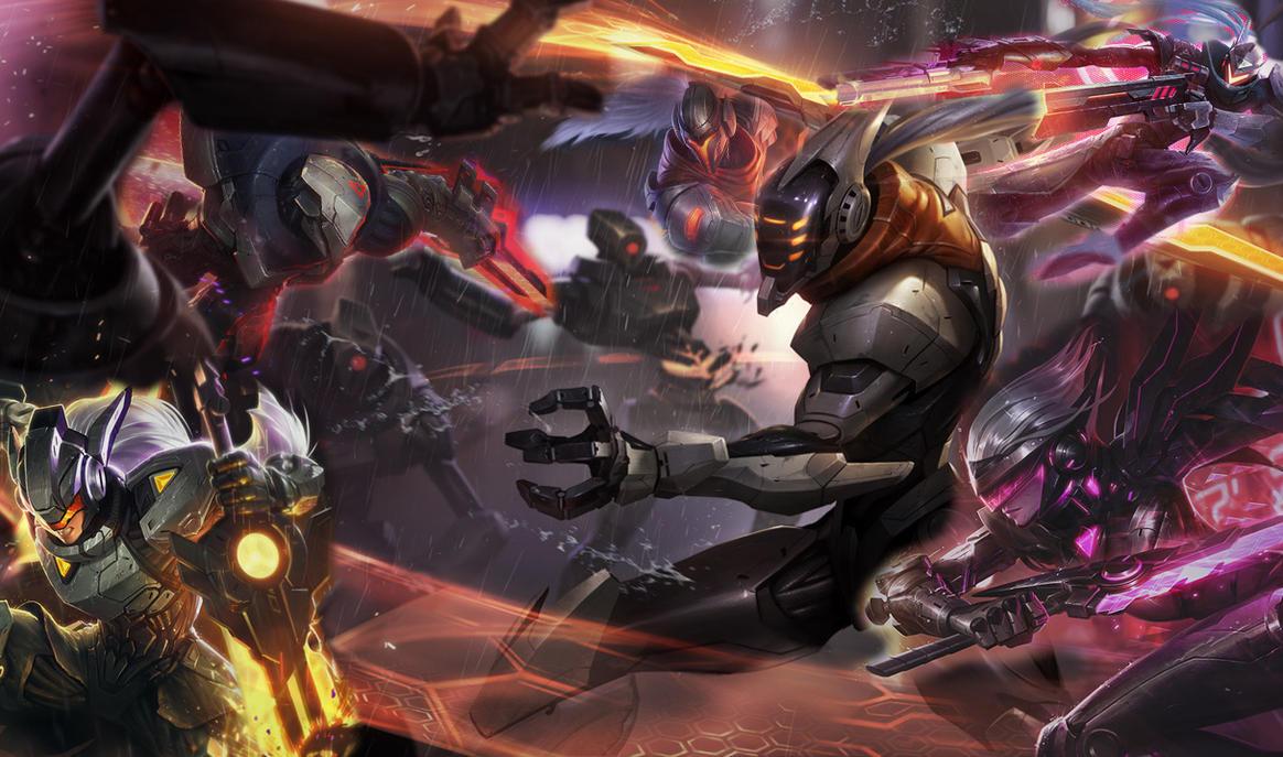 League of legends project skins wallpaper by maxyjo on deviantart
