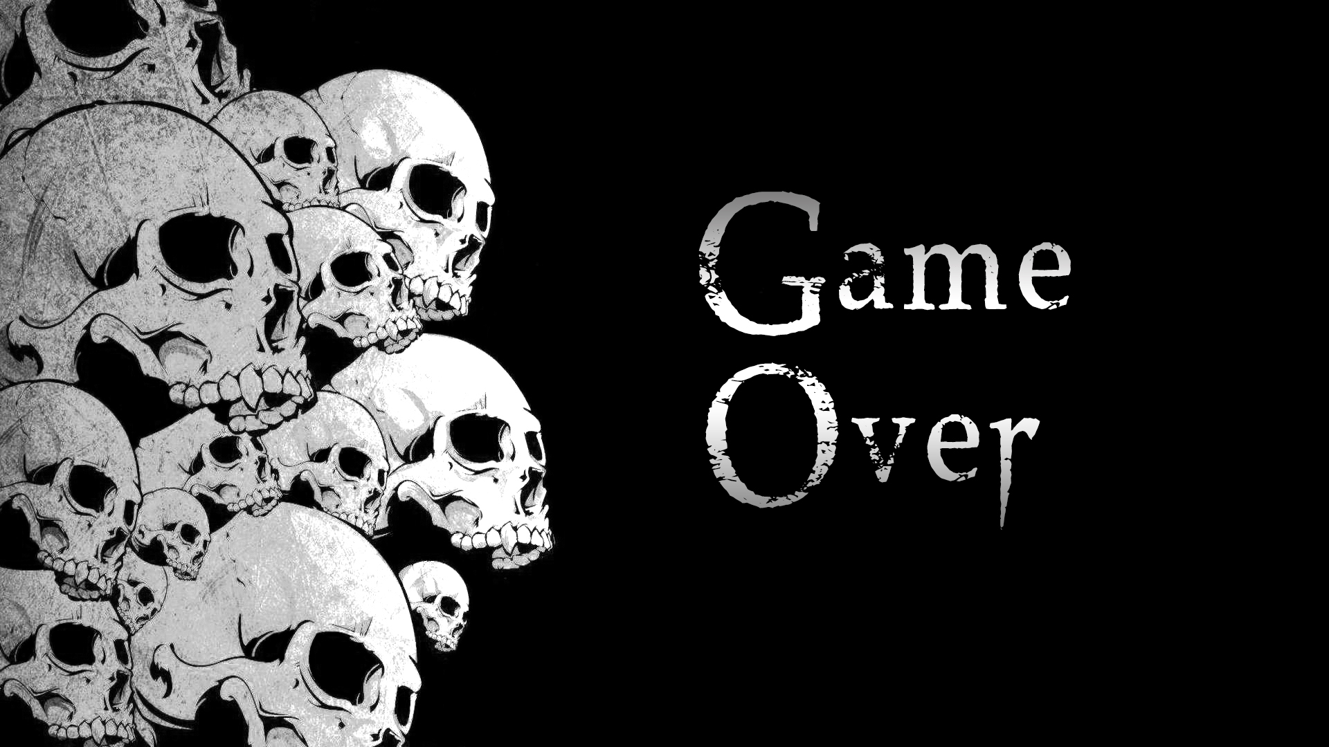 Game Over Wallpaper By Maxyjo On Deviantart HD Wallpapers Download Free Images Wallpaper [1000image.com]