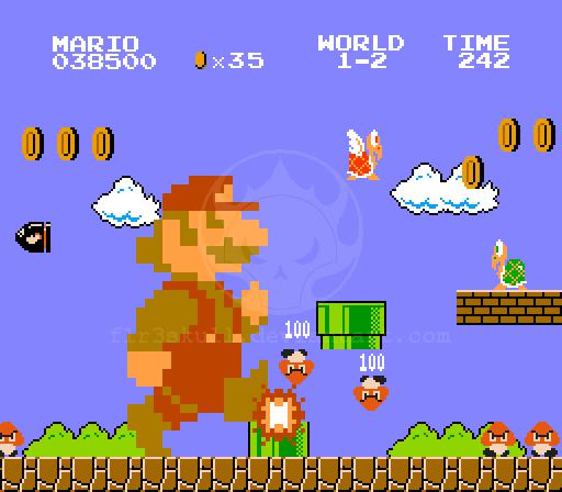 Old New Super Mario Bros By F1r3skull On Deviantart