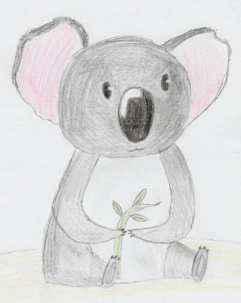 Koala bear. by Nerina-Nerina on DeviantArt