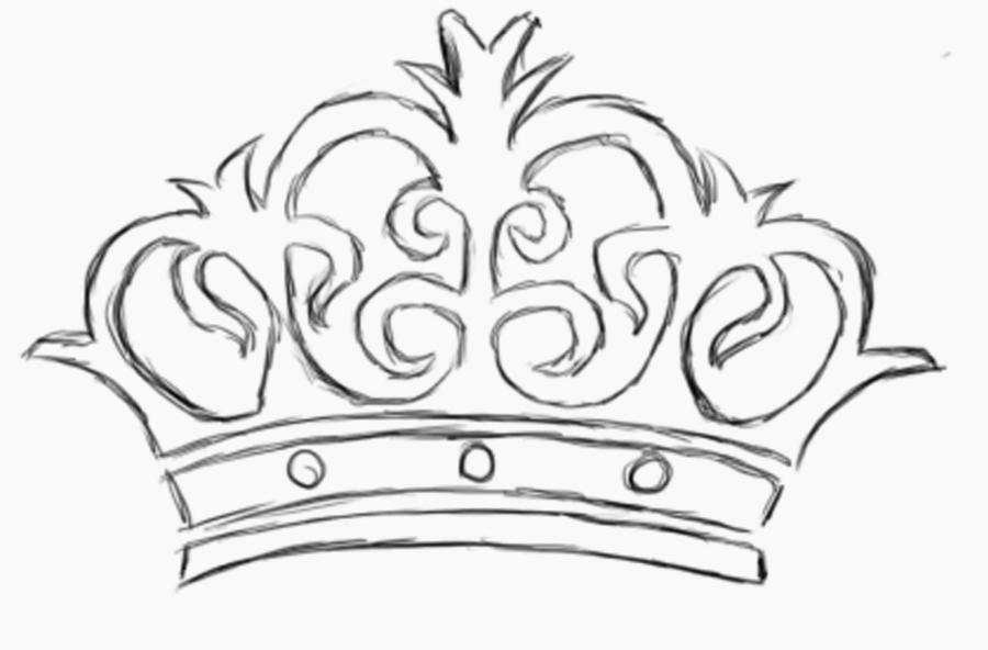 Crown Tattoo Line Drawing : New crown tattoo design by pantacle on deviantart