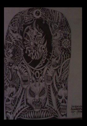 fine line tattoo cybernetic by inkwork27 on deviantart. Black Bedroom Furniture Sets. Home Design Ideas