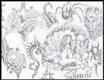 flash for tattoo art