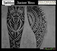 polynesian tattoo design by inkwork27