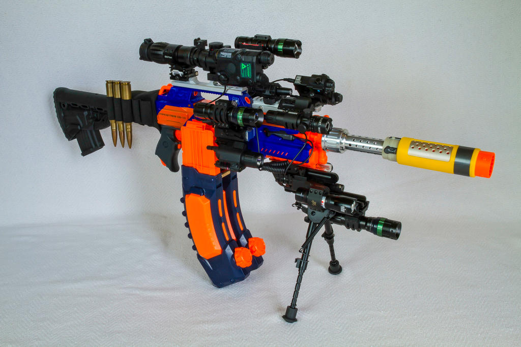 Soft Bullets Clips For Nerf Gun Toy 5 Bullets Ammo Cartridge Dart Magazine  Soft Gun Clip