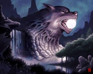 Wolf Moon by EliotAlexander