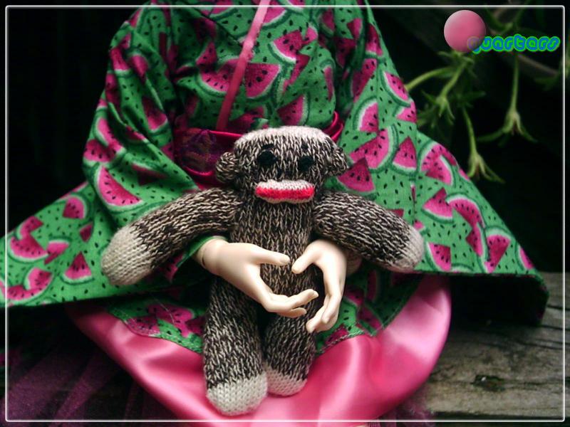 Sock Monkey FTW by Fin-Fin