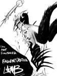 Fallen Castiel WIP