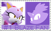 Number 1 Blaze  Fan Stamp by Psychicstar