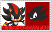 Number 1 Shadow Fan Stamp by Psychicstar