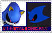 Number 1 MetalSonic  Fan Stamp by Psychicstar