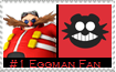 Number 1 Eggman  Fan Stamp by Psychicstar