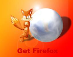 Firefox by kitsune-the-fox