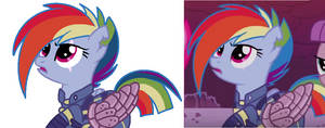 Rainbow Dash The Warrior