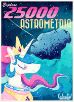 Celestial Spaceways Poster by Jopiter