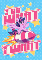 I DO WHAT I WANT - Poster Edition by Jopiter