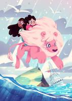 Lion's Ocean by Jopiter