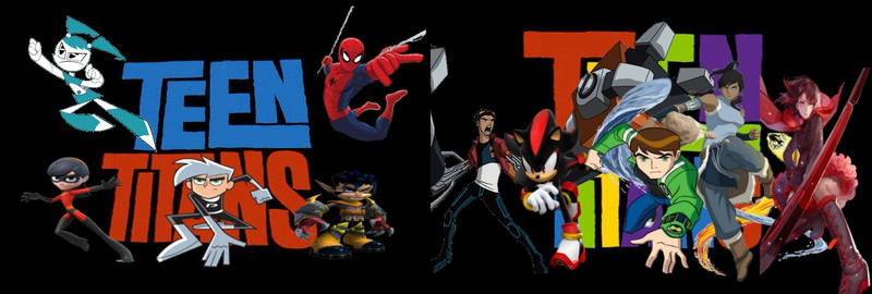 Teen Titans Generation X and Y