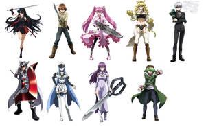 Akame Ga Kill Anime Art by N0-oB213