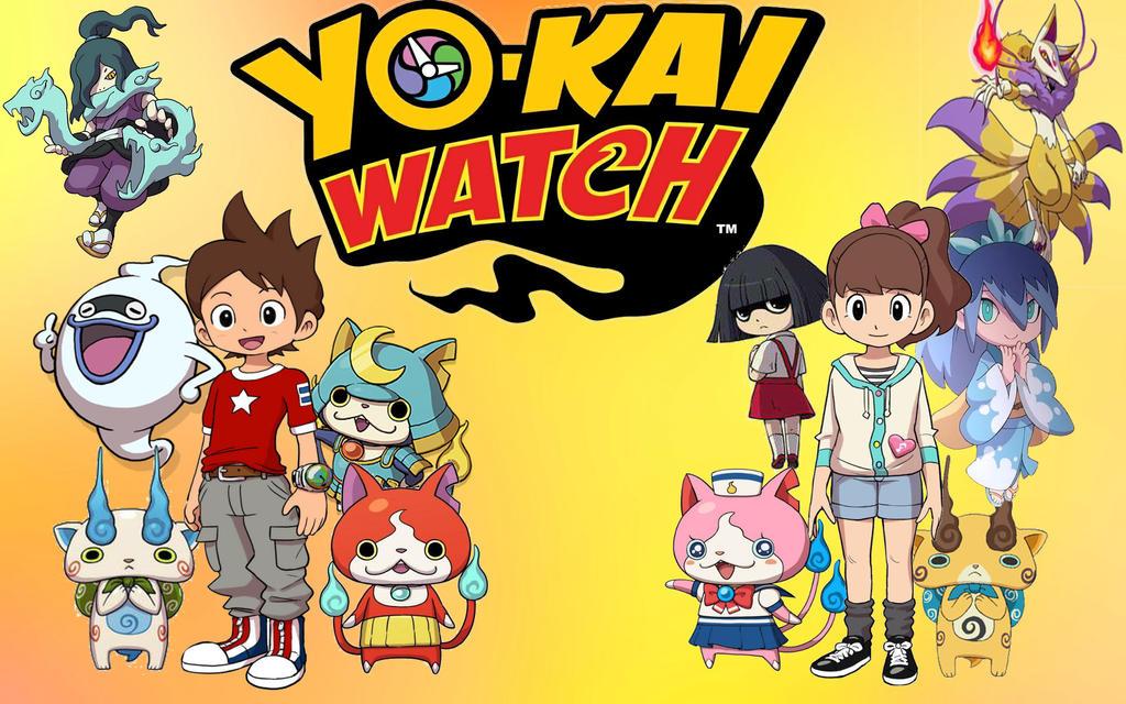 yo-kai watch wallpaper  Yo-Kai Watch wallpaper by N0-oB213 on DeviantArt