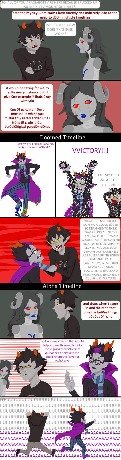 Another Reason Why Eridan Shouldn't Grubsit by Kamden