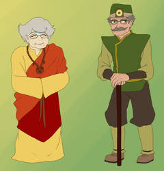 Nanna and Grandpa Benderstuck Profiles by Kamden