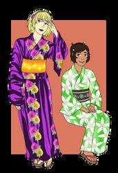 RoseJadeYukata by Kamden