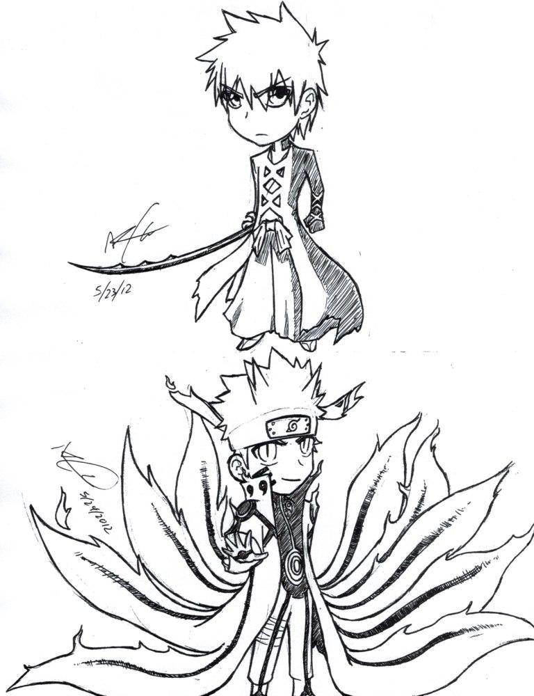 Ichigo and Naruto #4 by ignismagius