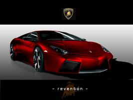 Lamborghini 'REDenton' by xiquiel