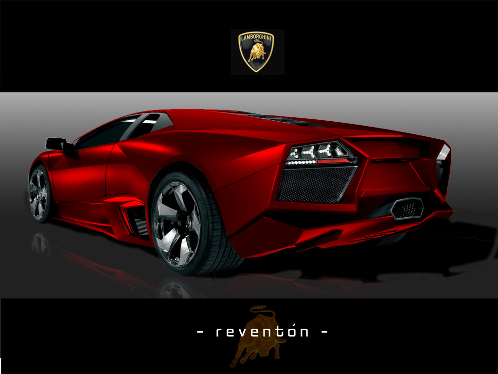 "Lamborghini ""REDenton"" Rear by xiquiel"