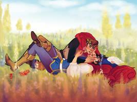 Commission: Two Princes by jimbopunk