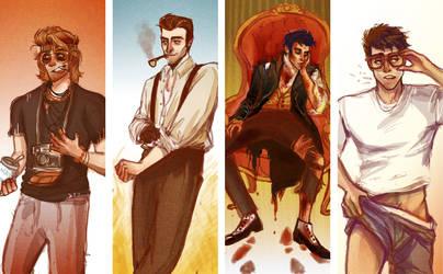 Commission: Men Marks.
