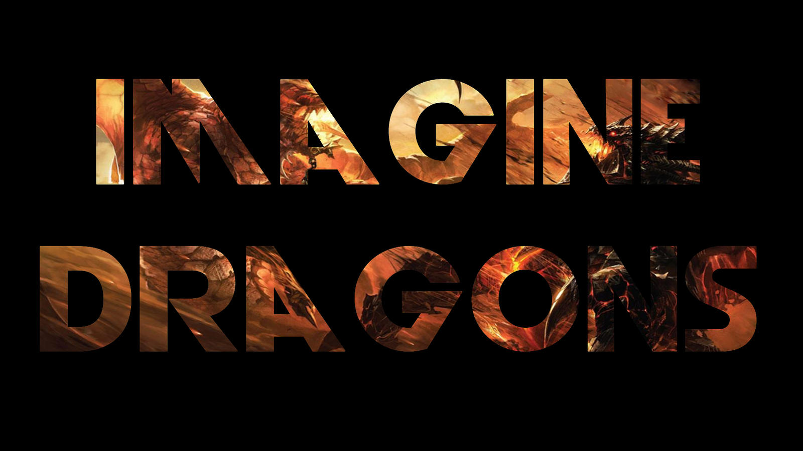 Imagine dragons by TheUnforgivingsArmy