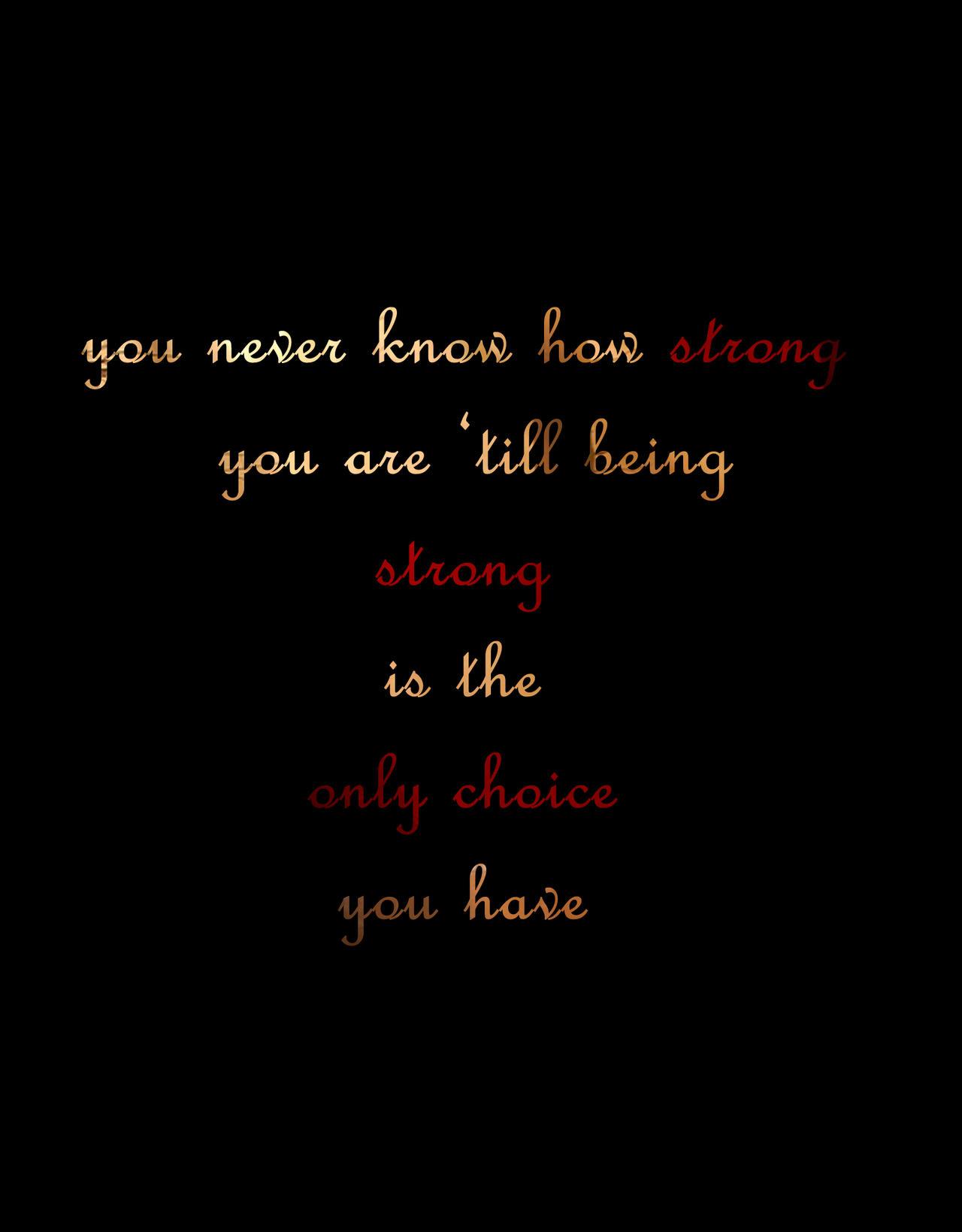 Strong by TheUnforgivingsArmy