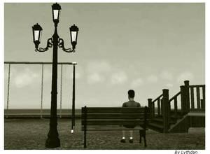 The Poet Alone