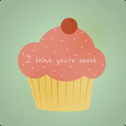 Sweet cupcake by Moets