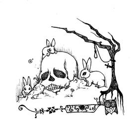 Cute bunnies by MrMadrigal