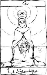 Tarot Update No. 2: The High Priestess by MrMadrigal