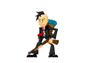 Useful Madness pixel character