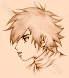 Anime Boy by FlameBrush
