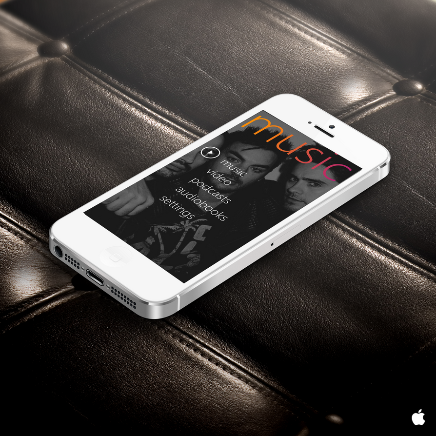 Music Player For Iphone 5 idea gallery